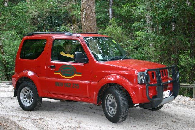 Suzuki Jimny Hire Fraser Island